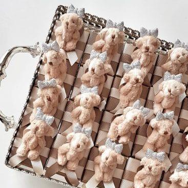 Kahverengi Ayıcıklı Çikolata - Papis Baby - Hastane Odası Süsleme - Doğum Organizasyonu