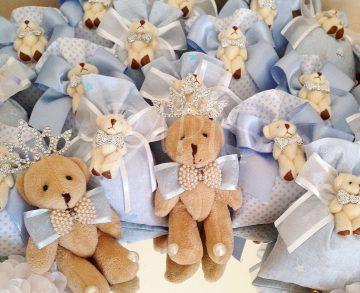 Mavi Ayıcıklı Lavanta Kesesi - Papis Baby - Hastane Odası Süsleme - Doğum Organizasyonu