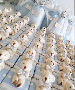 Bej Ayıcıklı Çikolata - Papis Baby - Hastane Odası Süsleme - Doğum Organizasyonu