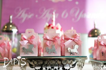 Carusel Şeker Kutusu - Papis Baby - Hastane Odası Süsleme - Doğum Organizasyonu