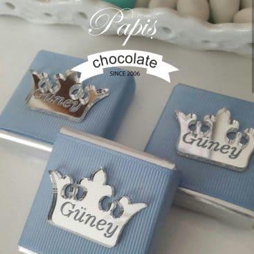 Kral Tacı Çikolata - Papis Baby - Hastane Odası Süsleme - Doğum Organizasyonu