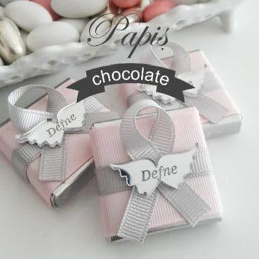 Melek Kanat Çikolata - Papis Baby - Hastane Odası Süsleme - Doğum Organizasyonu