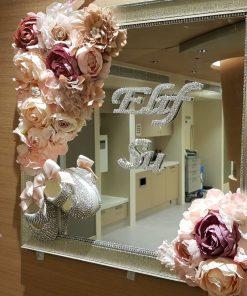 Taşlı Patik Kapı Süsü - Papis Baby - Hastane Odası Süsleme - Doğum Organizasyonu